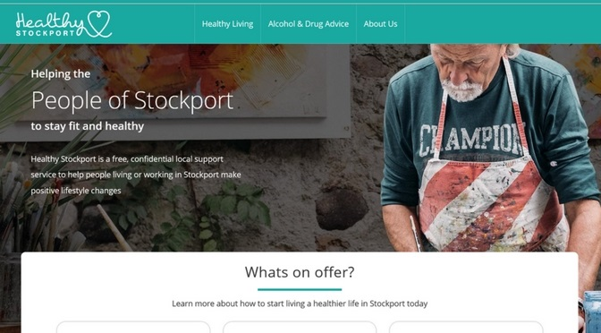 Creating a new website for Healthy Stockport