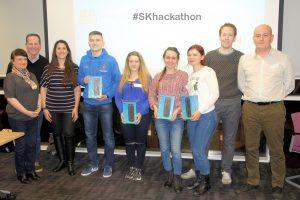 #SKhackathon_winners