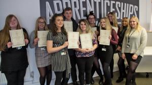 Bronze award winning Stockport Apprentices