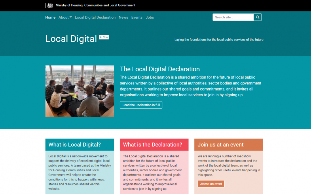 Why we signed the Local Digital Declaration