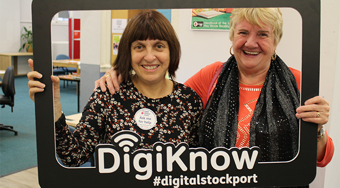 DigiKnow helps over 5,000 Stockport residents get online