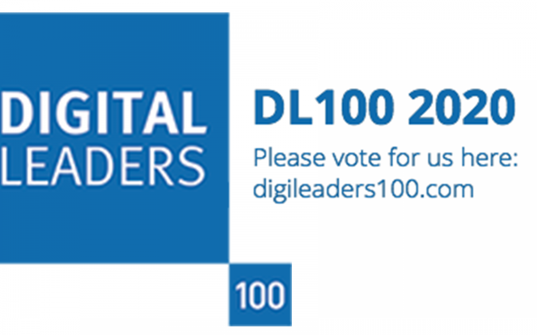 Vote for Stockport Council in the Digital Leaders 100 Awards